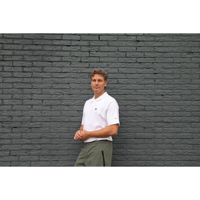 Donnay Heren - Korte joggingbroek Nick - Legergroen gemêleerd