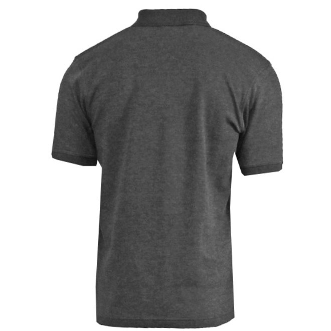 Donnay Heren - Polo shirt Noah - Donkergrijs gemêleerd