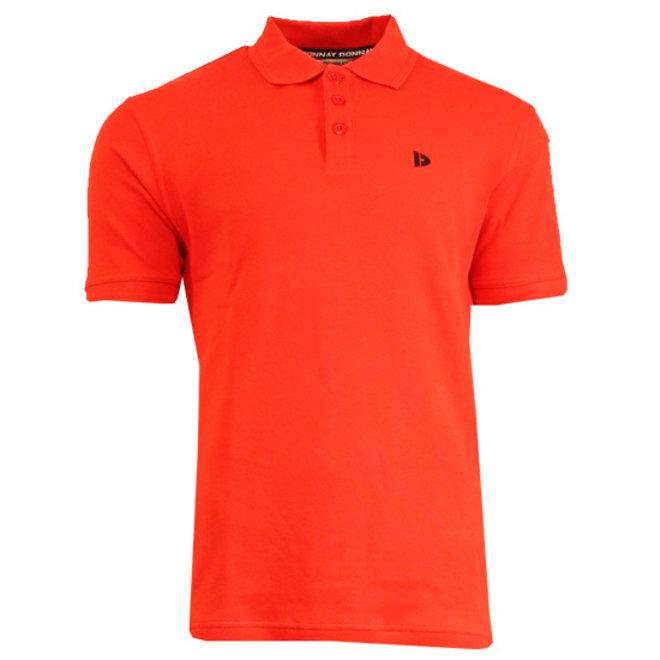 Donnay Heren - Polo shirt Noah - Vlamrood