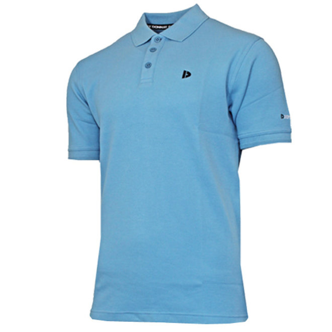 Donnay Heren - Polo shirt Noah - Dusty Blauw