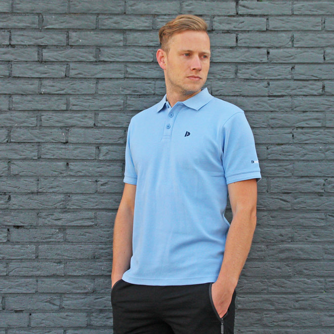 Donnay Heren - Polo shirt Noah - Vista Blauw