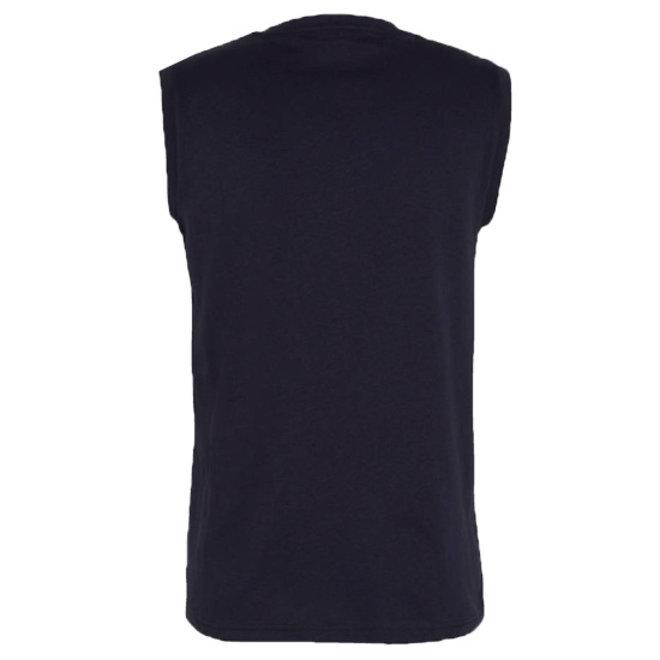 Donnay Heren - Mouwloos T-shirt Stan - Donkerblauw