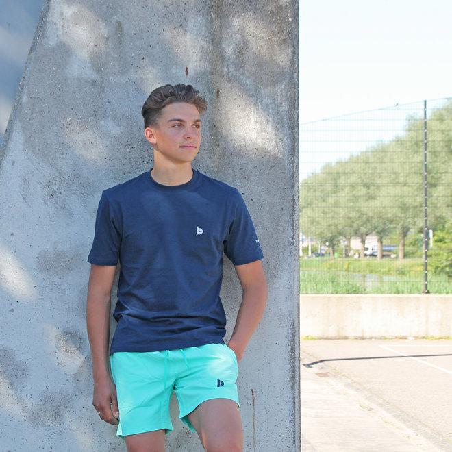 Donnay Heren - T-Shirt Vince - Donkerblauw