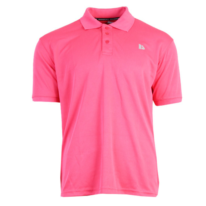 Donnay Heren - Sport Polo Ace - Koraal Rood/roze