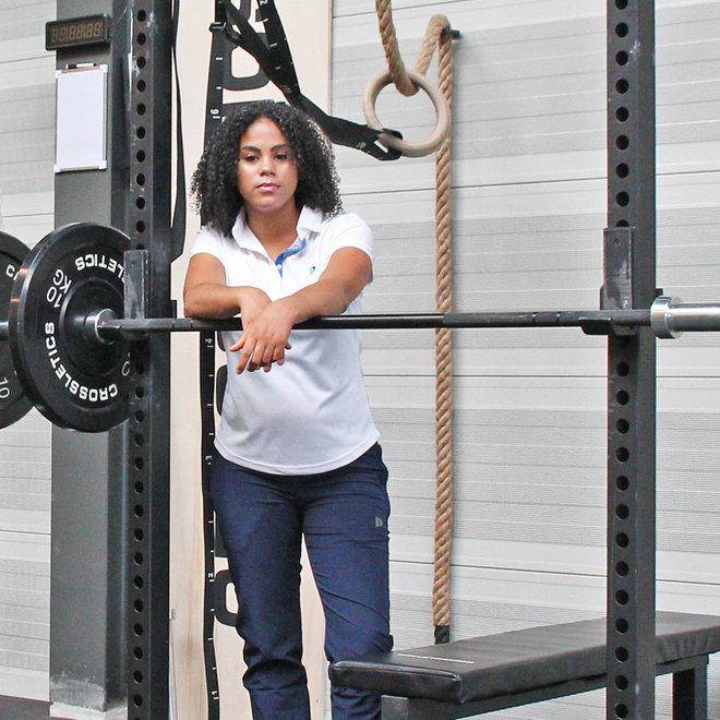 Donnay Dames - Stretch Sportbroek Alice - Navy