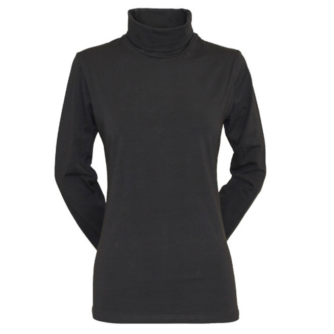 Campri Dames - Skipully - shirt met col - Antraciet