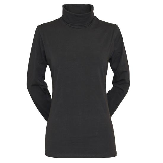 Campri Campri Dames - Skipully - shirt met col - Antraciet