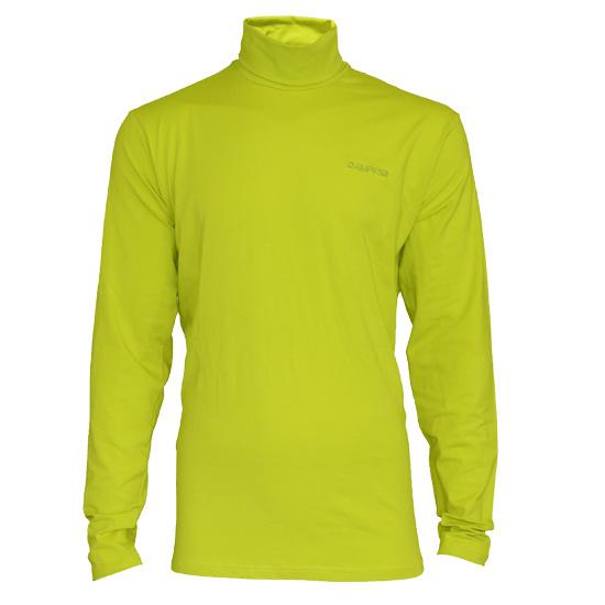 Campri Campri Heren - Skipully - shirt met col - Lime Groen