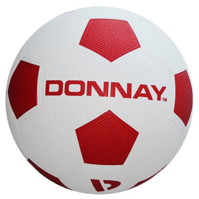 Donnay Straat voetbal - Rood / Wit