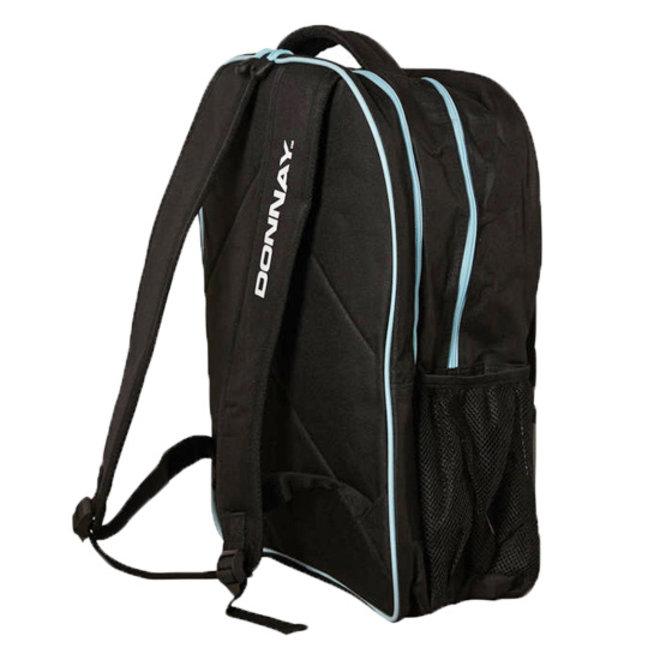 Donnay Racket Backpack Match - Zwart / Blauw