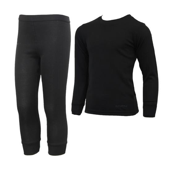 Campri Campri Junior -  Thermo Set - Legging + Shirt - Zwart