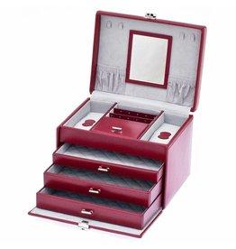 Davidts Boîte à Bijoux De Luxe Rouge