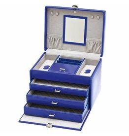 Davidts Boîte à Bijoux De Luxe Bleu
