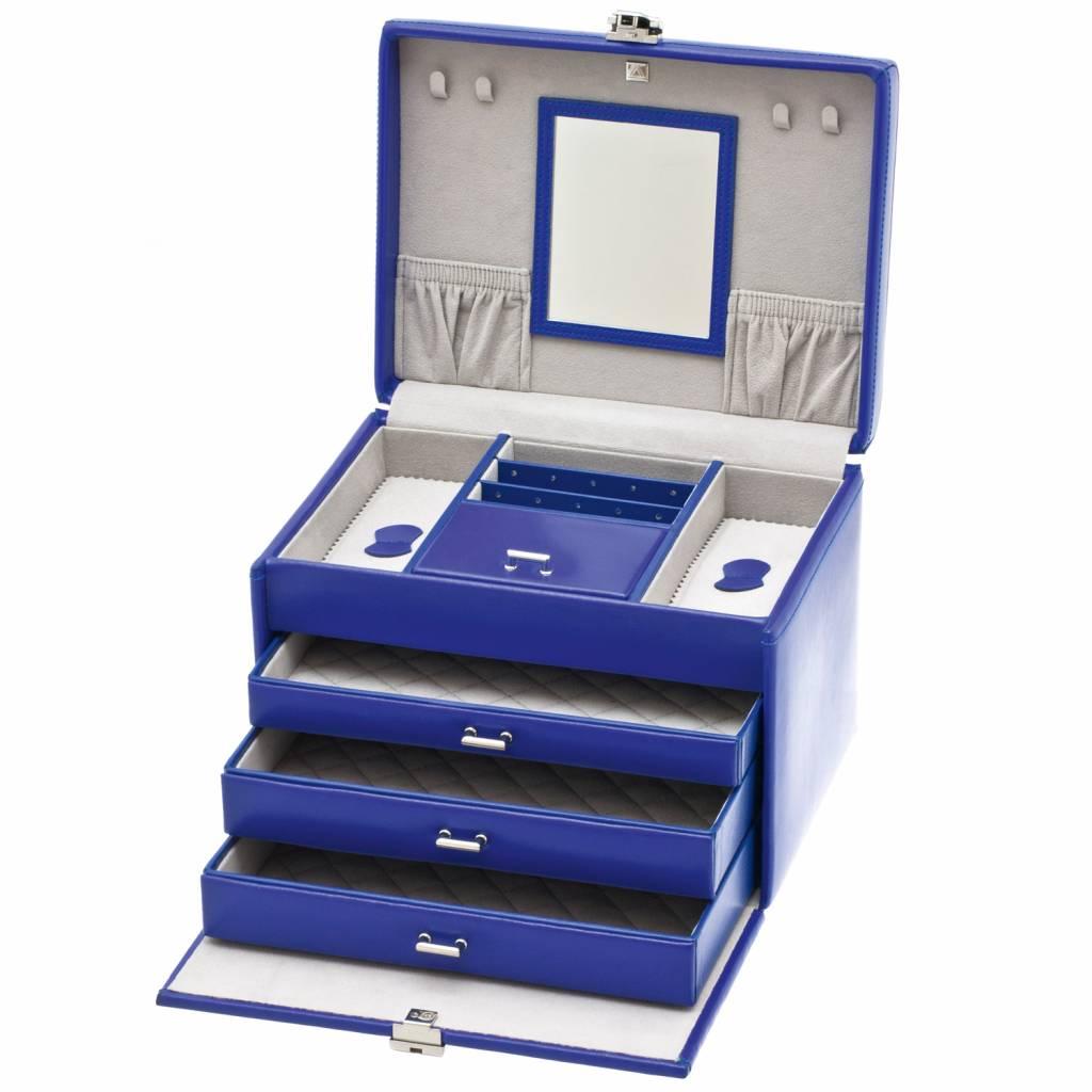 Juwelendoos Luxe Blauw