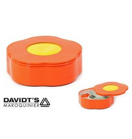 Davidts Schmuckkasten Blume Orange