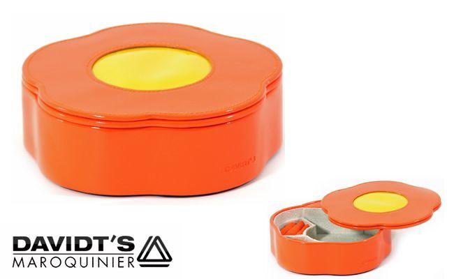 Schmuckkasten Blume Orange
