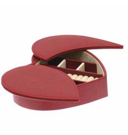 Davidts Boîte à Bijoux Charmant Rouge