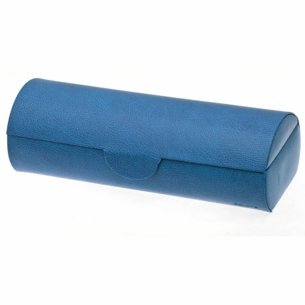 Boîte de Montre Pour 5 Montres Bleu