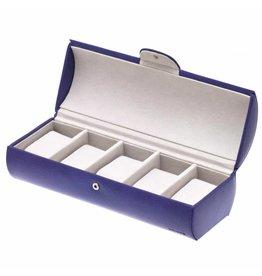 Davidts Boîte de Montre Pour 5 Montres Violet