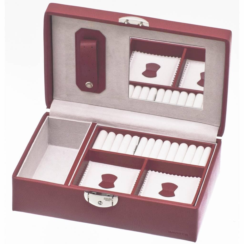 Boîte à Bijoux Malta Rouge