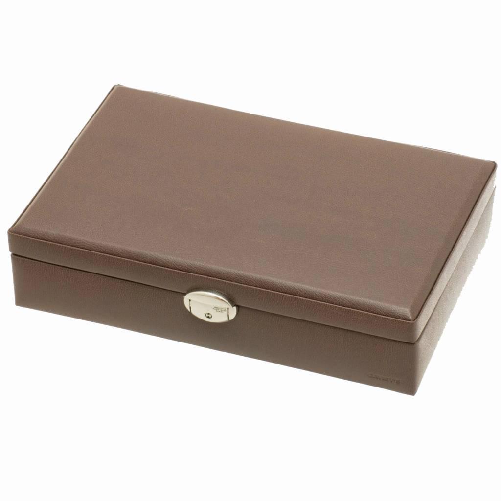 Uhrenbox für 12 Uhren Braun