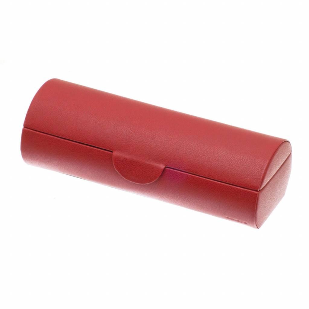 Uhrenbox für 5 Uhren Rot