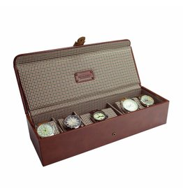 Jacob Jones Horlogebox Cognac 5-6 pcs
