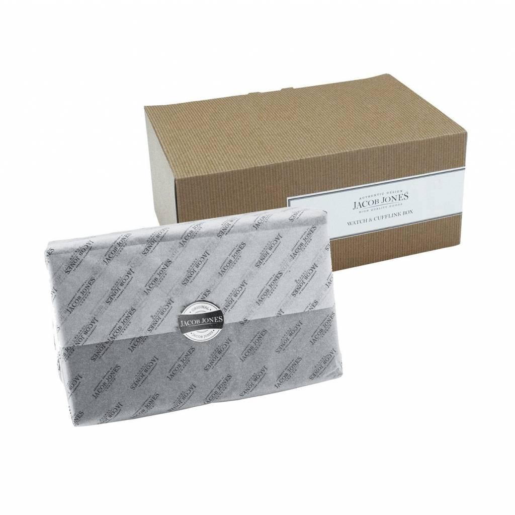 Uhren- & Manschettenknöpfe Box Grau