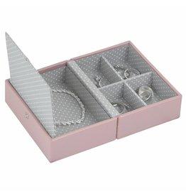Stackers Schmuckkasten Soft Pink Reise