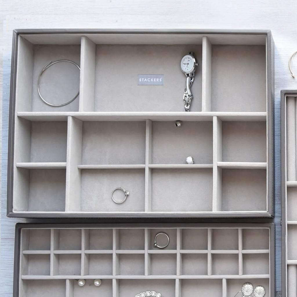 Sieradendoos Mink Supersize 11-vaks voor horloges/accessoires