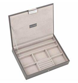 Stackers Boîte à Bijoux Mink Classic Couvercle