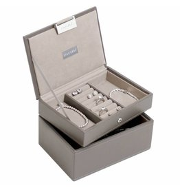 Stackers Boîte à Bijoux Mink Mini Ensemble