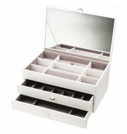 Boutique Boîte à Bijoux XL Blanc