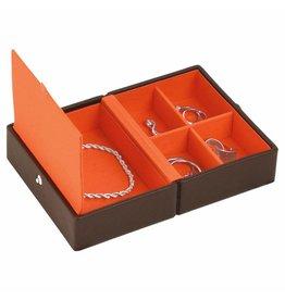 Stackers Boîte à Bijoux Chocolate Brown Voyage