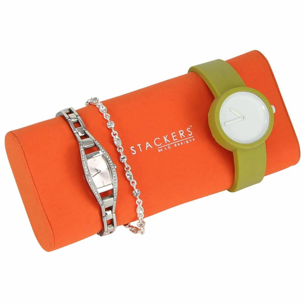 Schmuck-/Uhrenbox Chocolate Brown uhr/armbandhalter
