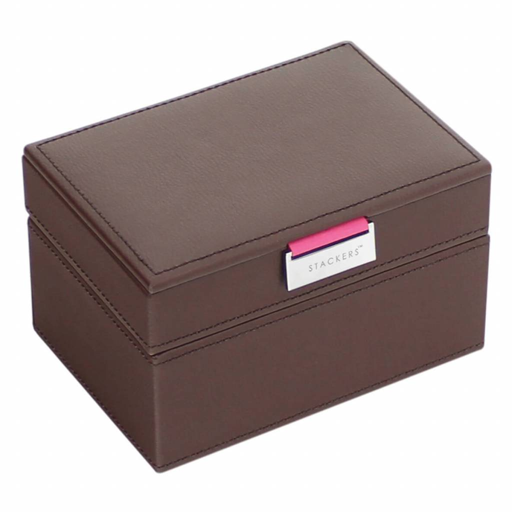 Boîte à Bijoux Chocolate Brown Mini Ensemble