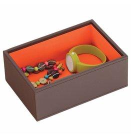 Stackers Sieradendoos Chocolate Brown Mini 1 vak