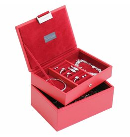 Stackers Boîte à Bijoux Red Mini Ensemble