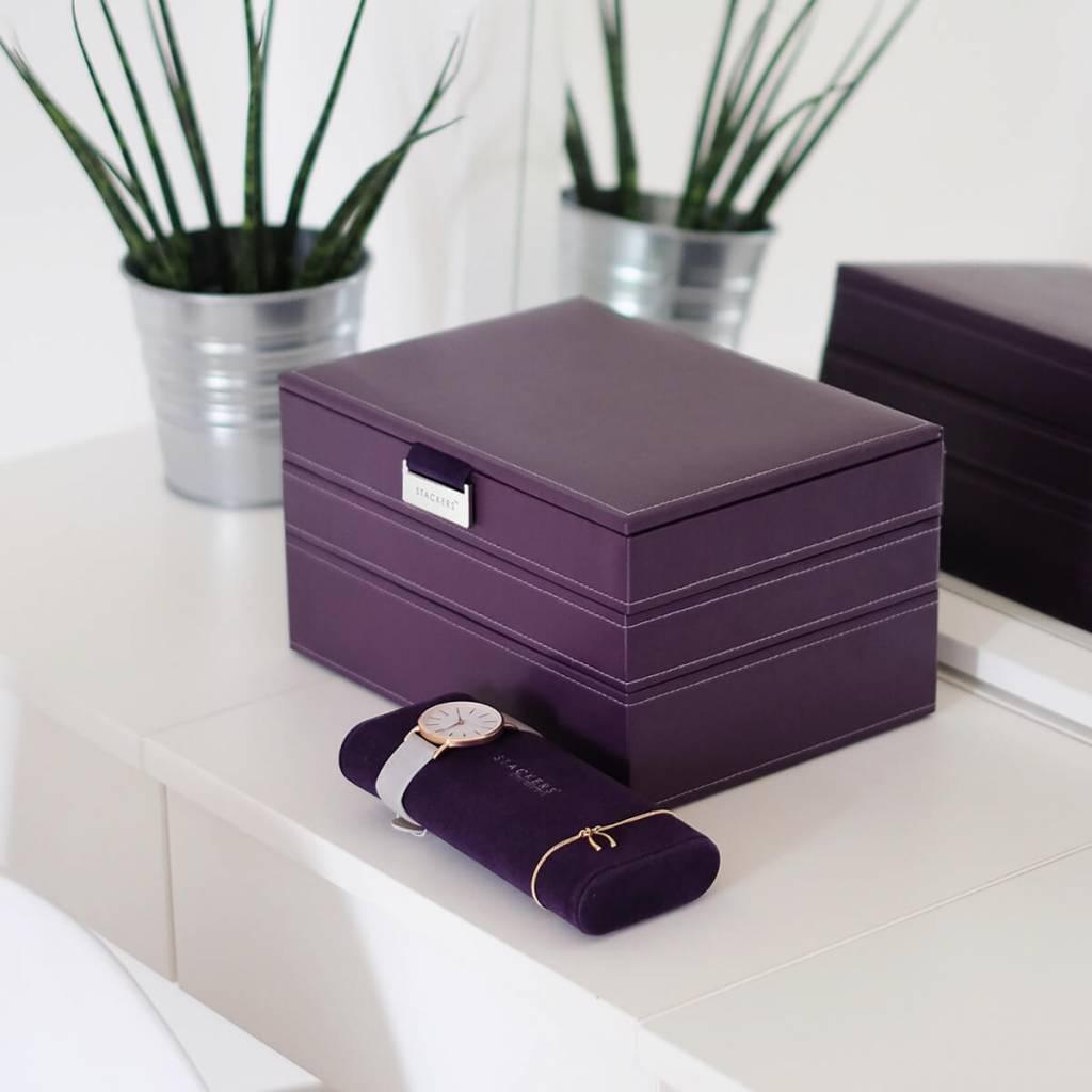 Schmuckkasten Purple Classic Set
