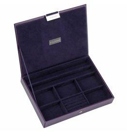 Stackers Schmuckkasten Purple Classic Deckel