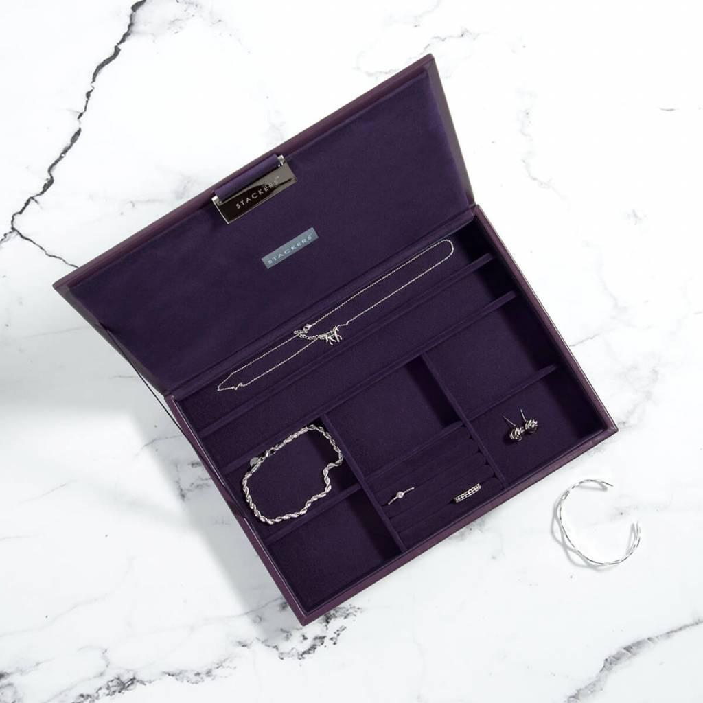 Schmuckkasten Purple Classic Deckel