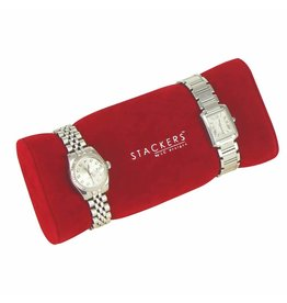 Stackers Boîte à Bijoux/Montre Red Montre/Bracelet Titulaire