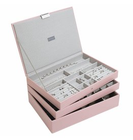 Stackers Schmuckkasten Soft Pink Supersize Set