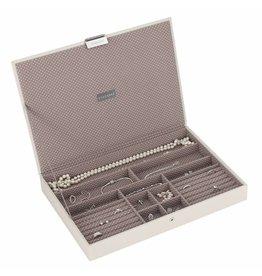 Stackers Boîte à Bijoux Vanilla Supersize Couvercle