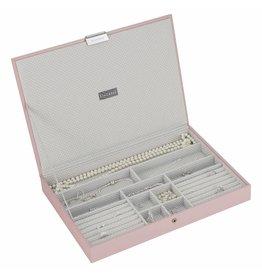Stackers Boîte à Bijoux Soft Pink Supersize Couvercle