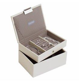 Stackers Boîte à Bijoux Vanilla Mini Ensemble