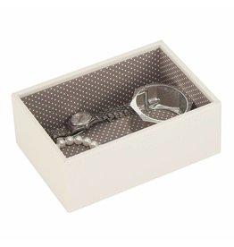 Stackers Boîte à Bijoux Vanilla Mini 1 section