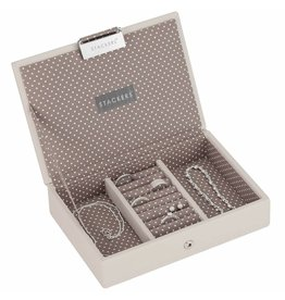 Stackers Boîte à Bijoux Vanilla Mini Couvercle