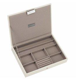 Stackers Boîte à Bijoux Vanilla Classic Couvercle