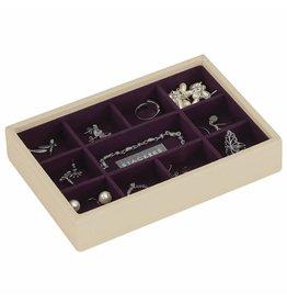 Stackers Boîte à Bijoux Cream Mini 11 sect.